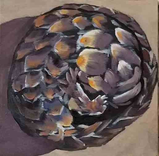 Pam Jackson - Pangolin ball