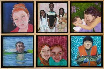 Children's class framed